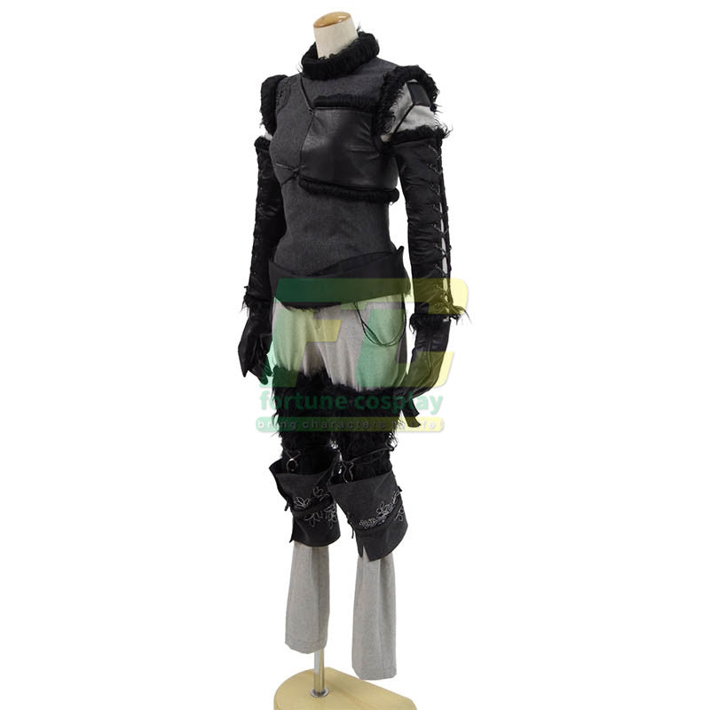 Free Shipping NieR: Automata YoRHa Type A No.2 A2 DLC Cosplay Costume Custom Made