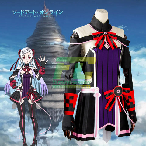 Sword Art Online SAO Movie: Ordinal Scale Yuuna Shigemura Theater Cosplay Costume
