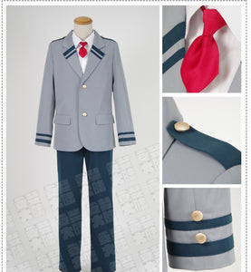 My Hero Academia Deku Izuku Midoriya Cosplay Costume School Uniform Boku No Hero Academia