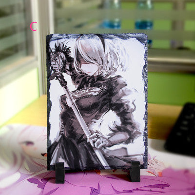 NieR: Automata Stone Painting - fortunecosplay