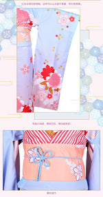 Load image into Gallery viewer, Fate Stay Night FGO Saber Haregi Kimono Cosplay Costume