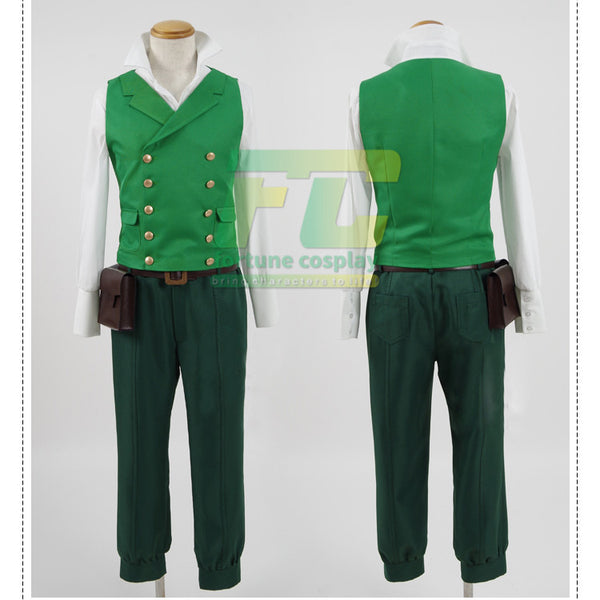 My Hero Academia Deku Izuku Midoriya Warrior Cosplay Costume Season 2 ED Boku No Hero Academia