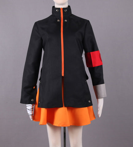 Naruto The Movie The Last-Uzumaki Naruto Female Anime Cosplay Costume