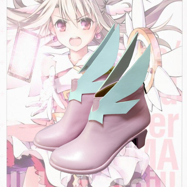 Fate Kaleid Liner Illya Illyasviel von Einzbern Magical Girl Cosplay Shoes