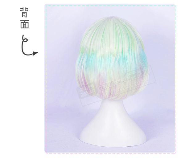 Land of the Lustrous Houseki no Kuni Diamond Cosplay Full Wigs