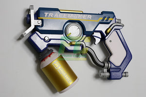 Tracer Graffiti cosplay gun prop accessory