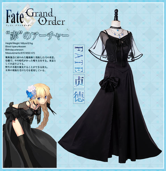 Fate Grand Order Jeanne d'Arc Dress Cosplay Costume Custom Made