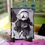 Load image into Gallery viewer, NieR: Automata Stone Painting - fortunecosplay