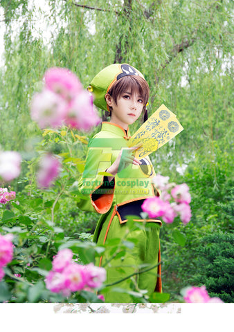 Card captor Sakura clear card Syaoran Li cospaly costume