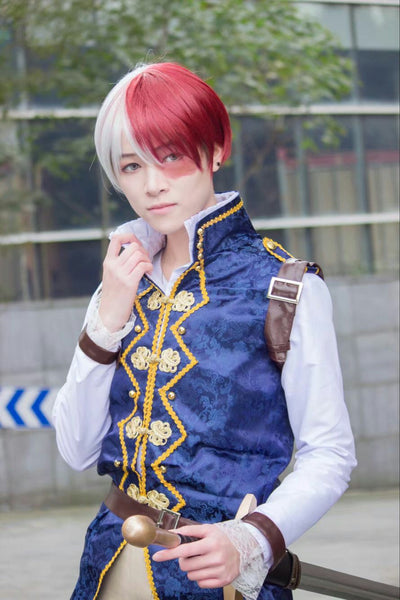 Boku no Hero Akademia Shouto Todoroki Prince My Hero Academia Cosplay Costume