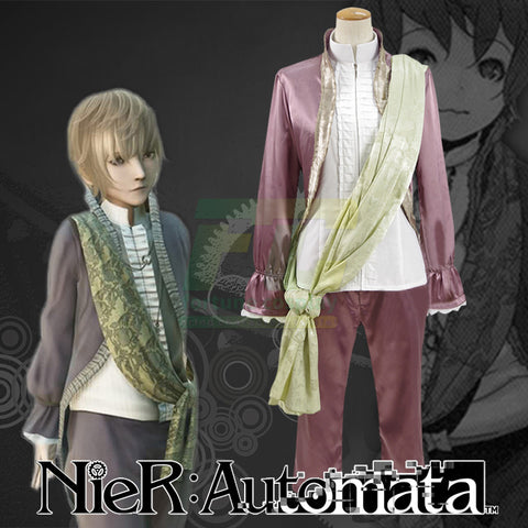 Free Shipping NieR: Automata Emil Cosplay Costume Custom Made