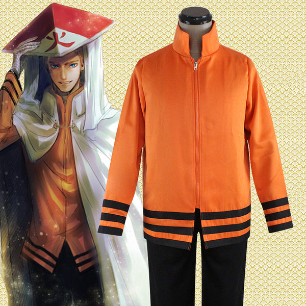 Naruto THE LAST Seventh Hokage Uzumaki Naruto Cosplay Costume