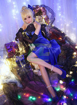 Load image into Gallery viewer, Fate extella fate zero saber cosplay costume Fate Grand Order blue party dress - fortunecosplay