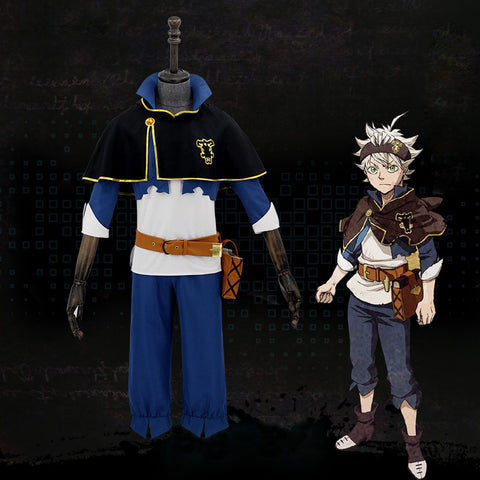 Black Clover Cosplay Costume Asta Unisex Cosplay Costume