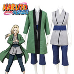 Load image into Gallery viewer, Naruto Tsunade Cosplay Costume Outfit 5th Hokage for Adults Children Custom Made