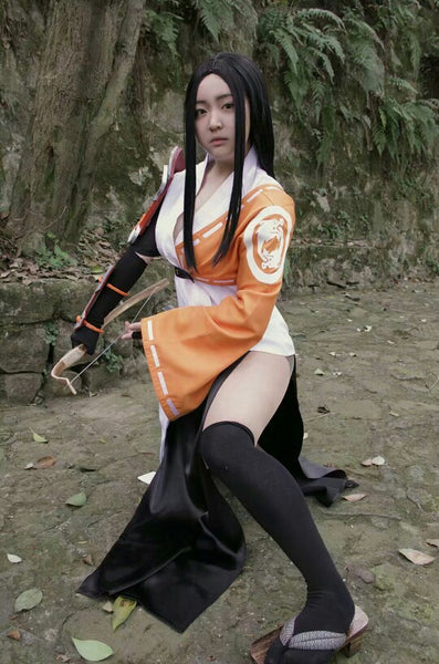 Young Hanzo Female Cosplay Costume Overwatch OW