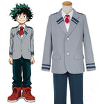 Load image into Gallery viewer, My Hero Academia Deku Izuku Midoriya Cosplay Costume School Uniform Boku No Hero Academia