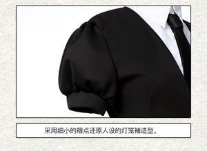 Land of the Lustrous Houseki no Kuni Phosphophyllite Cinnabar Diamond Bort Morganite jumpsuits Suits Coat Jacket Uniform Anime Cosplay Costumes - fortunecosplay