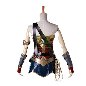 Free Shipping Batman v Superman: Dawn Justice Wonder Woman Cosplay Costume Super Hero - fortunecosplay