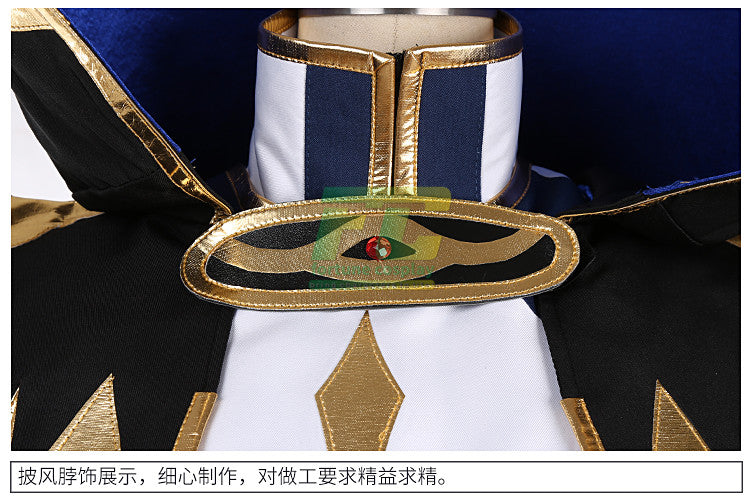 Free Shipping Code Geass R2 Suzaku Kururugi Knight of Zero Cosplay Costume