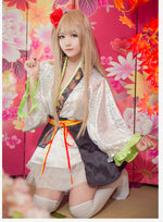 Load image into Gallery viewer, Love Live! 9 Roles Kaguya No Shiro De Odoritai Kimono Cosplay Costume With Fan