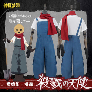 Angels of Death Eddie Edward Mason Cosplay Costume Outfit