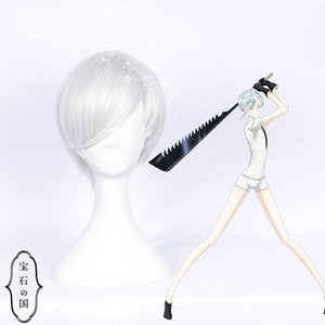 Land of the Lustrous Houseki no Kuni Antarcticite Cosplay Full Wigs - fortunecosplay
