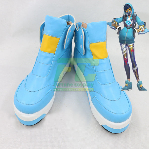 Tracer Graffiti Skin cosplay Shoes
