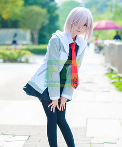 Fate Grand Order First Order Cosplay Mash Kyrielight Shielder Costume - fortunecosplay