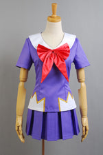 Load image into Gallery viewer, Future Diary Mirai Nikki Gasai Yuno Anime Cosplay Costume School Uniform - fortunecosplay