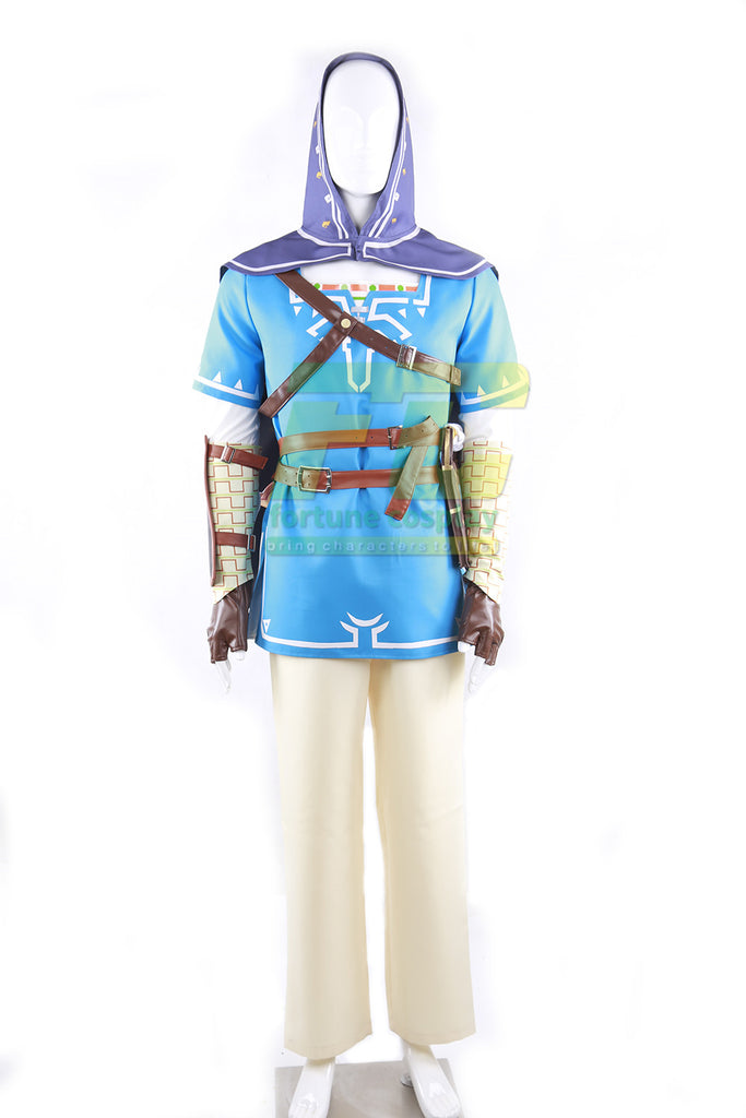 The Legend Of Zelda Breath Of The Wild Link Sheikah Slate Quiver Cosplay Costume