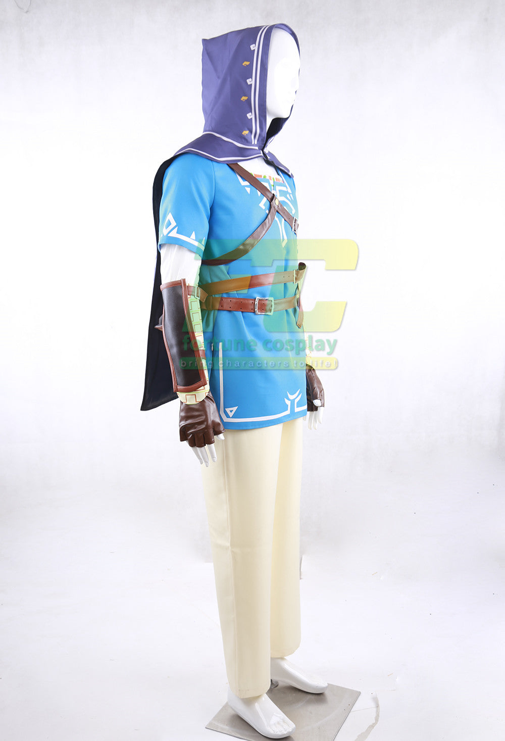 The Legend of Zelda Breath of the Wild Link Sheikah Slate Quiver Cosplay Costume - fortunecosplay