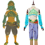 Load image into Gallery viewer, The Legend of Zelda Cosplay Breath of the Wild Link Cosplay Costume Outfit