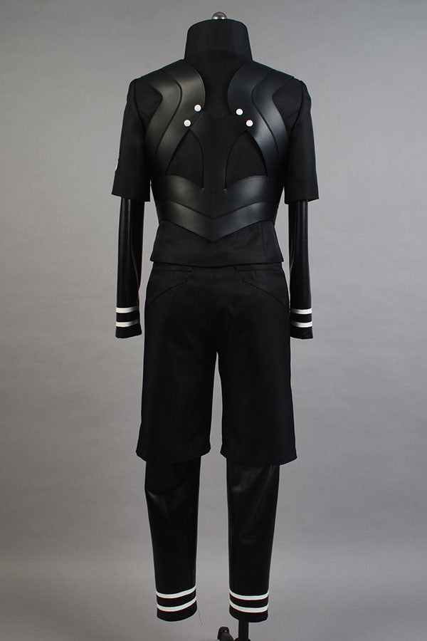 Tokyo Ghoul Season 2 Ken Kaneki  Fighting Cosplay Costume Black Full Set