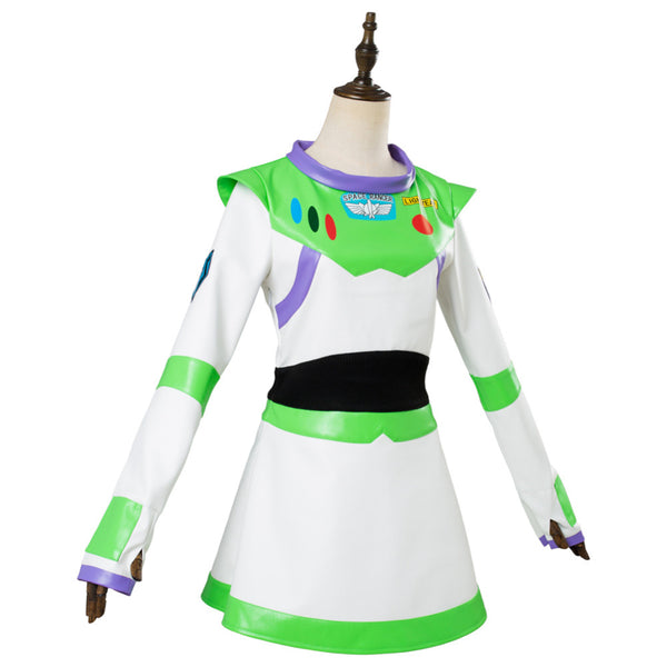 Toy Story Buzz Lightyear Cosplay Costume Girls Fancy Dress
