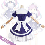 Load image into Gallery viewer, Vtuber Minato Aqua Cosplay Costume Women Cute Maid Dress Halloween Carnival Party Uniforms YouTuber Outfits Custom Made