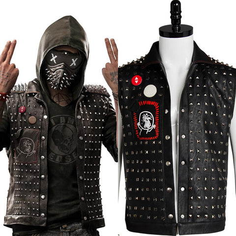 Watch Dogs 2 Wrench I am Dedsec Shawn Baichoo Vest Wrist Guard