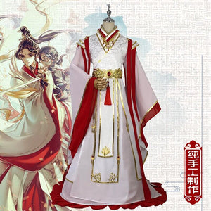 Xie Lian Cosplay Anime Tian Guan Ci Fu Cosplay Costmes Yue Shen Cosplay Chinese Outfit