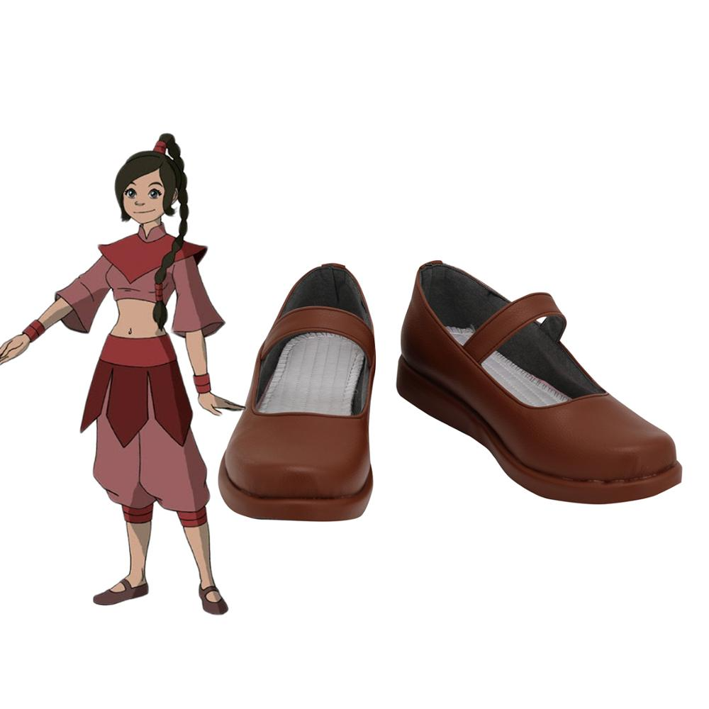 Avatar: the last Airbender Ty Lee Cosplay Shoes Custom Made