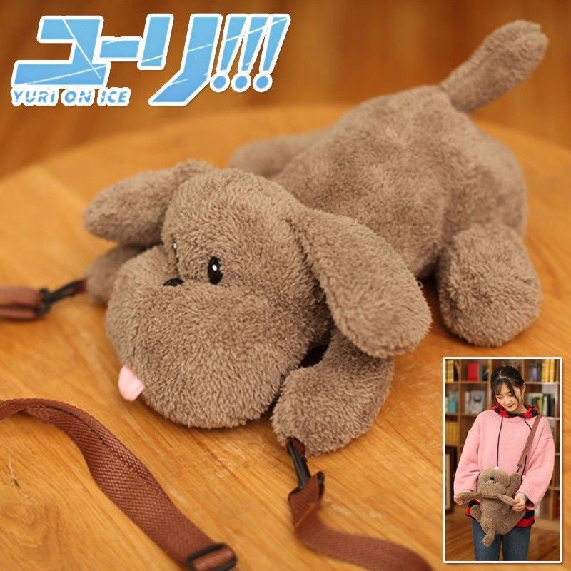 Yuri on Ice Victor makkachin plush Bag
