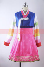 Load image into Gallery viewer, Overwatch D.Va New Year Traditional Korean Cosplay Costume