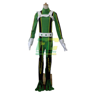 Asui Tsuyu Froppy My Hero Academia Boku no Hero Academia fighting Cosplay Costume Suit