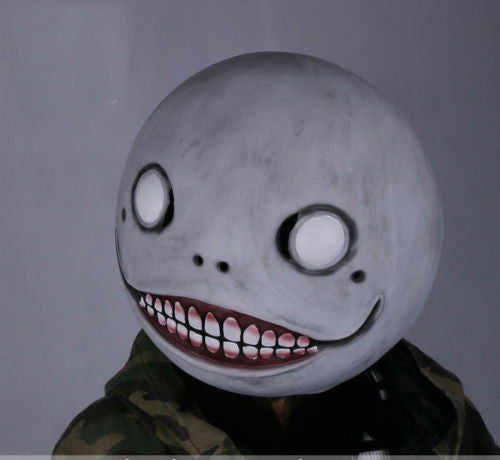 NieR: Automata Emil Mask Costume Helmet Halloween Cosplay Props Latex - fortunecosplay