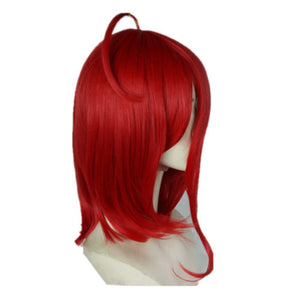 Land of the Lustrous Houseki no Kuni Cinnabar Bangs Shinsha Cosplay Full Wigs - fortunecosplay