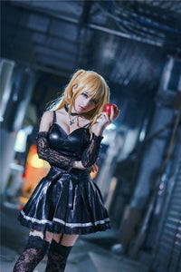 Death Note Misa Amane Dress Outfit Cosplay Costumes