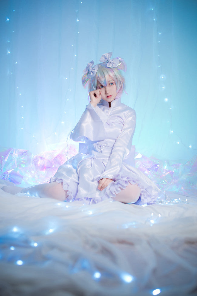 Houseki no Kuni Land of the Lustrous Diamond Winter Pajama Lolita Dress Cosplay Costume
