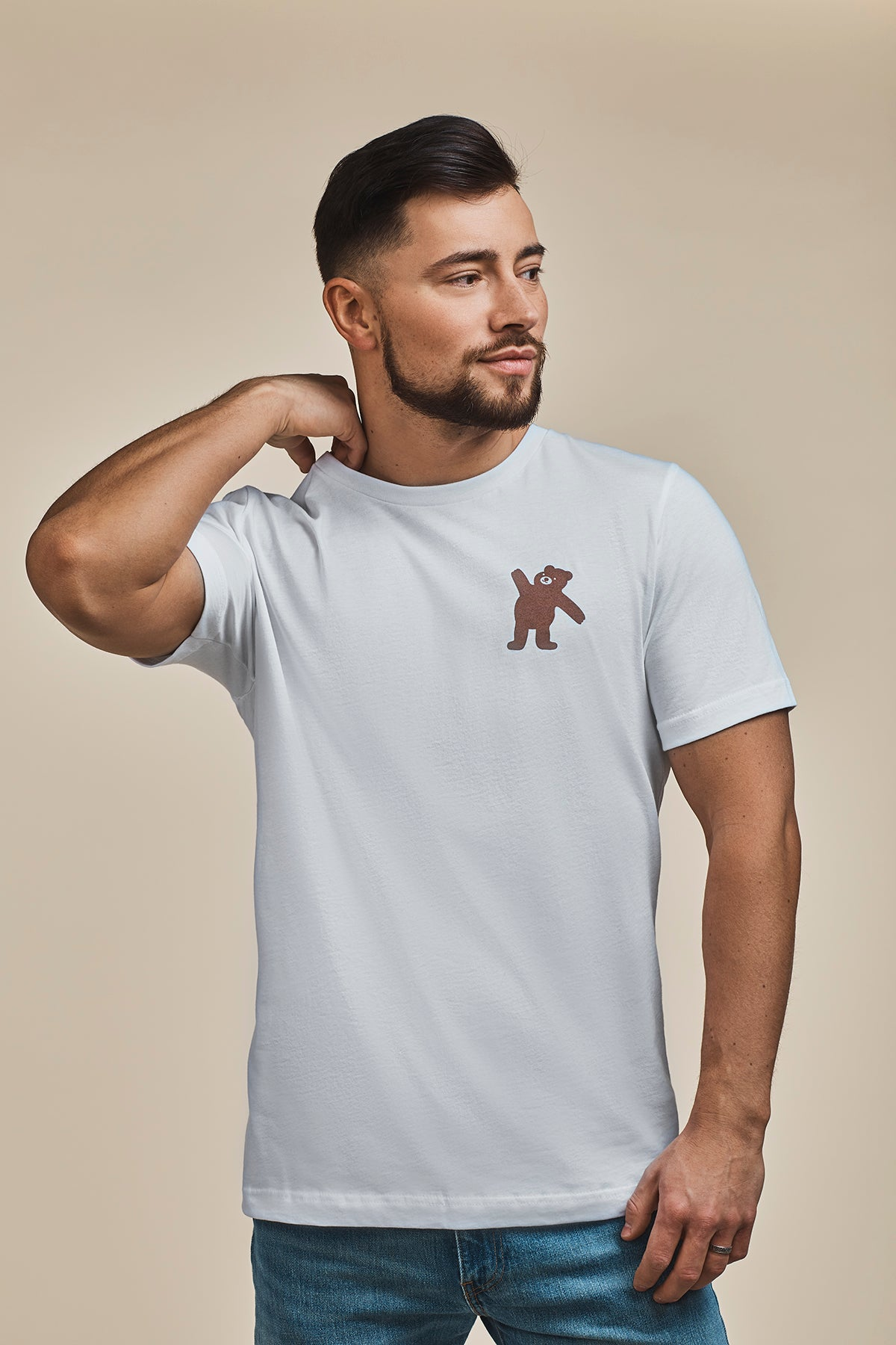 The Teddy | Tee | White