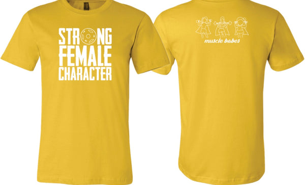 Strong Female Character Unisex Tee