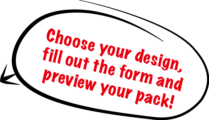 Choose your design graphic