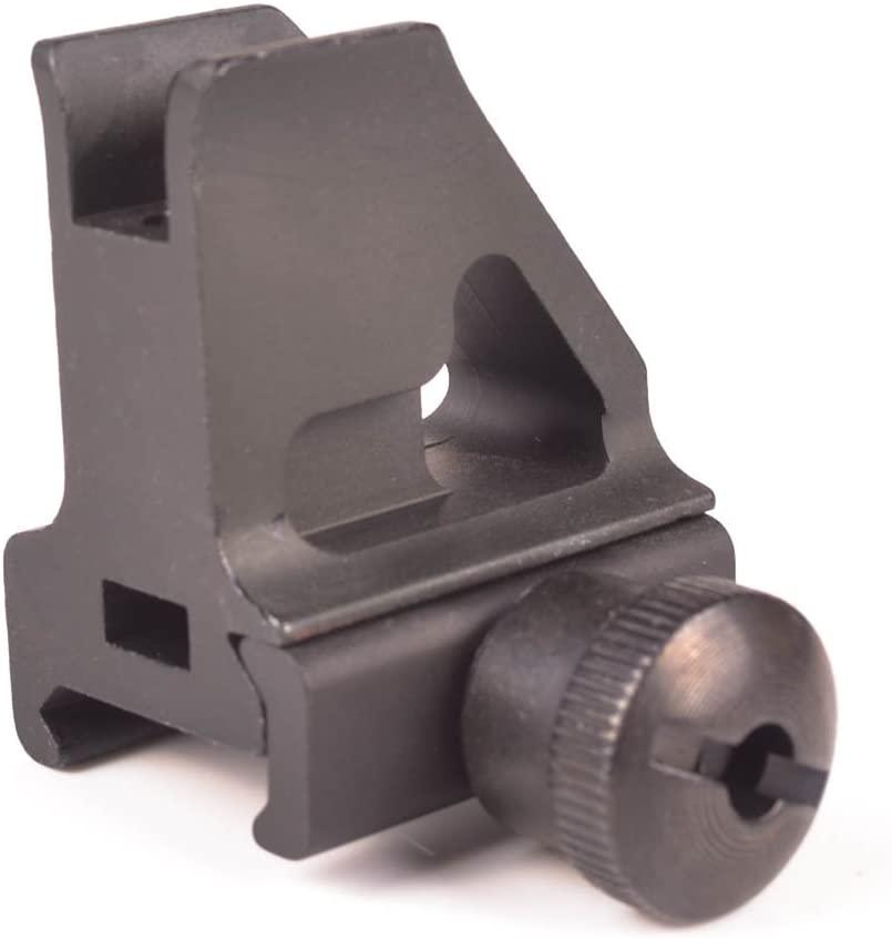AR15 Rail Height Low Profile Front Iron Sight Post Sights Green Blob Outdoors